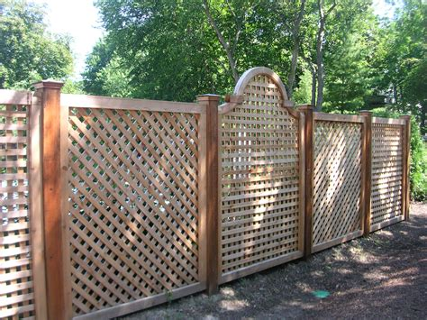 idea for wood metal mix decorations mesmerizing lattice fence ideas 82 vinyl lattice fence