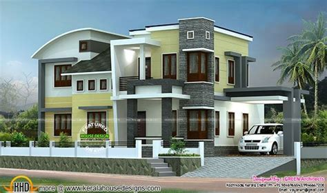 double storied house 13 lakhs kerala home design and 1800 sq ft double storied home plan kerala home design