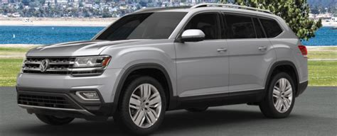 2018 volkswagen atlas exterior paint color options