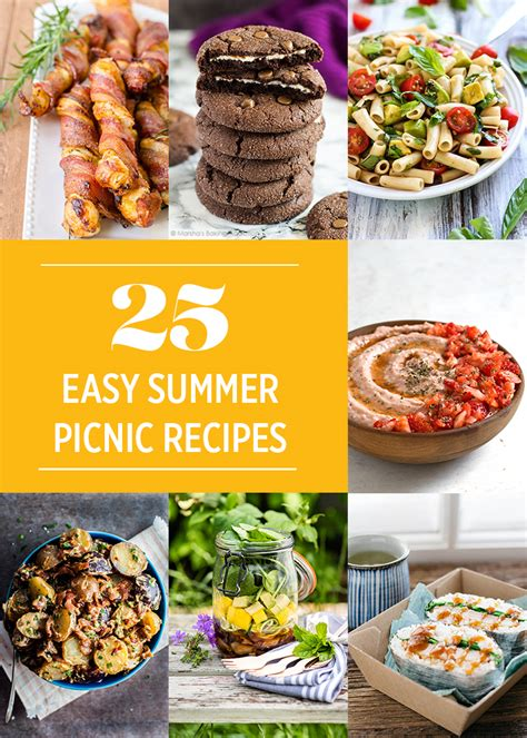 25 easy summer picnic recipes for national picnic month lito supply co