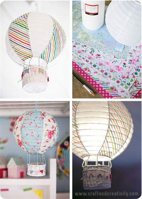 How To Make Paper Balloon Lanterns - risla blir luftballong paper lantern turned into