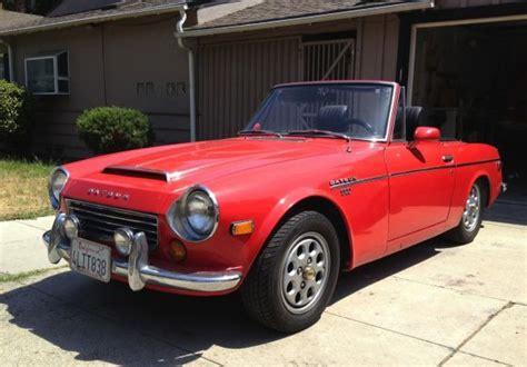 nissan roadster 1970 seller submission 1970 datsun 1600 roadster bring a trailer