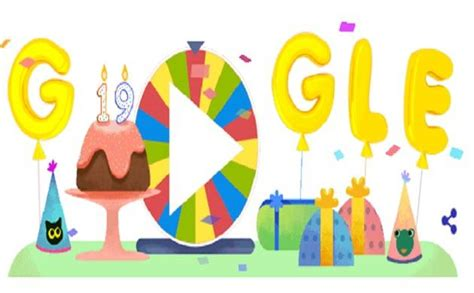 doodle spinner celebrates 19th birthday with spinner