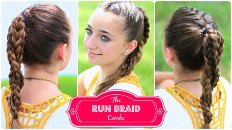 hairstyles for school games the run braid combo hairstyles for sports cute girls