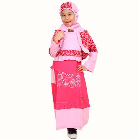 Baju Anak Muslim Kiddos Yuk Shalat detail produk baju anak muslimah thinker bell pink toko