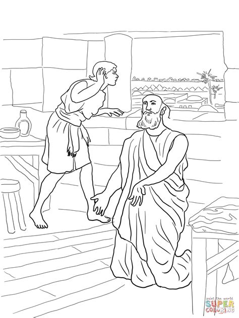 free bible coloring pages naaman naaman coloring pages coloring home