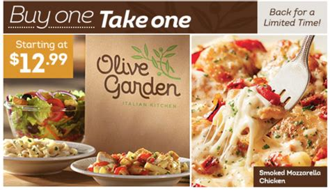 olive garden buy one for take free dapper intended promotions decorations garden for your