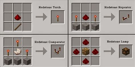 Redstone L Crafting Recipe Minecraft by Minecraft Here S How To Create Craft Redstone Items