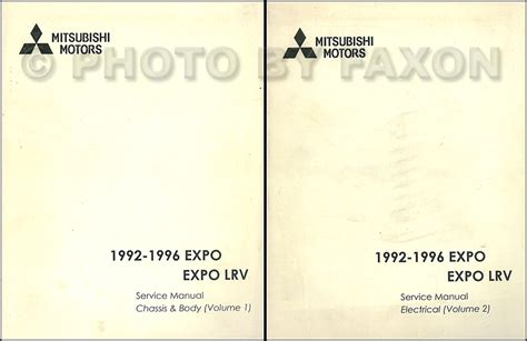 download car manuals 1996 mitsubishi expo lrv electronic throttle control search