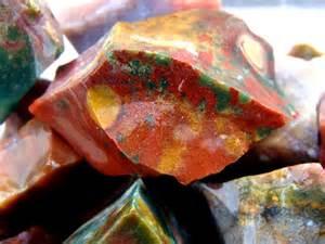 Rock Jewelry Making - fancy jasper rock rough for tumbling polishing