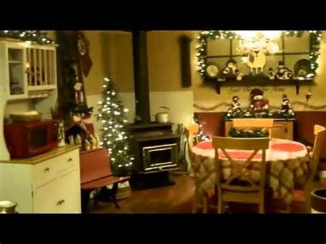country christmas dining room tour country christmas