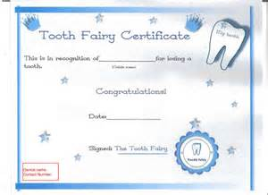 items similar to tooth fairy certificate dentist present