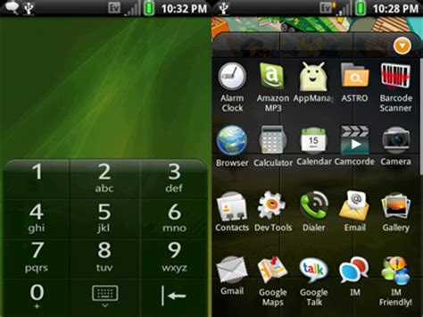 android themes rom palm pre rom theme for android intomobile