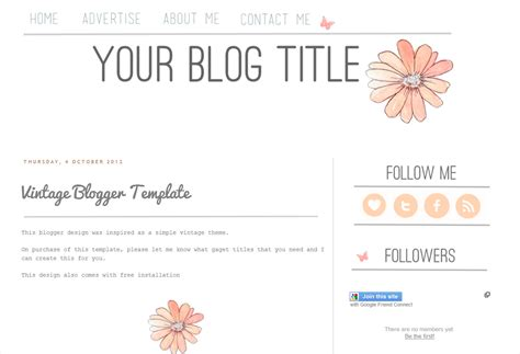 Themes Blogger Free | free blog templates cyberuse