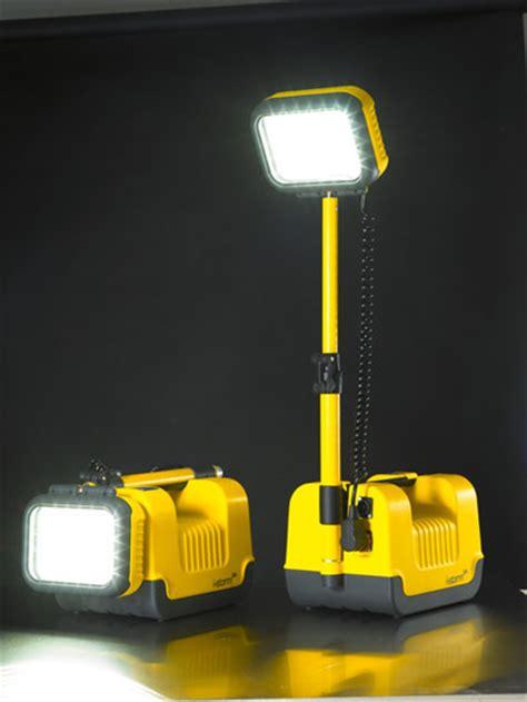 battery operated work light portable led flood light