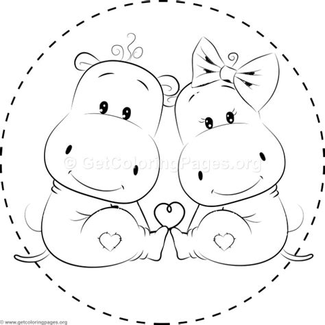 cute hippo coloring page cute hippo coloring pages getcoloringpages org