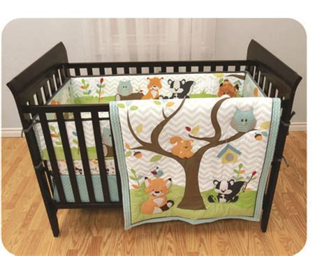 Walmart Baby Crib Bedding Sets Garanimals In The Woods 3 Crib Set Available From Walmart Canada Shop And Save Baby At