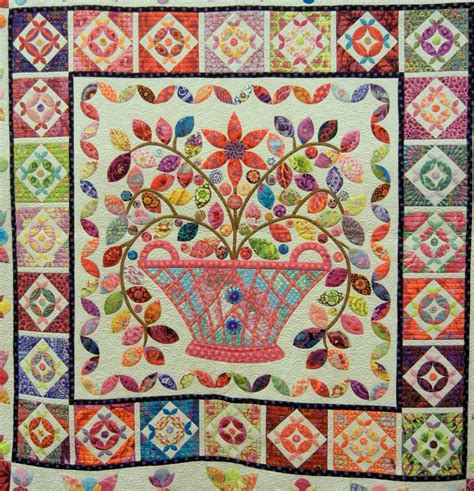 Flower Basket Quilt Pattern by Quilt Inspiration Two Million View Milestone Part 3
