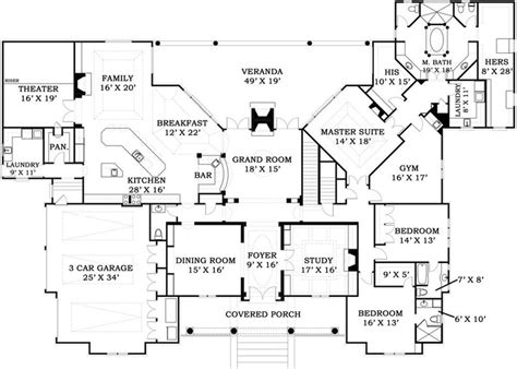 5000 square foot house plans 17 best images about house plans on pinterest european house plans house plans and