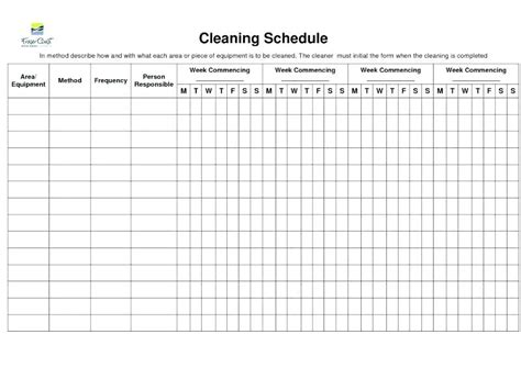 Bathroom Checklist Template by Bathroom Cleaning Schedule Template Daily House Cleaning