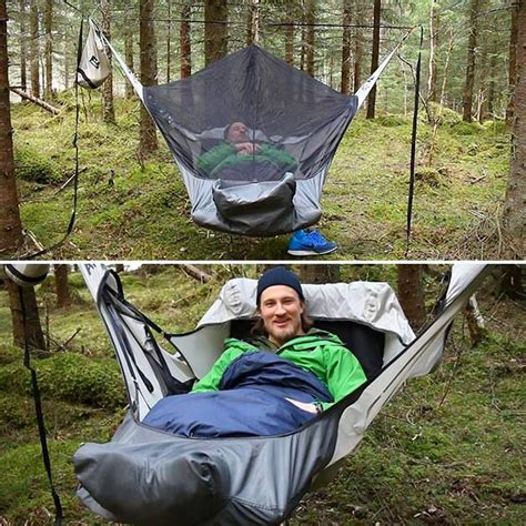 Best Way To Sleep In A Hammock 25 best ideas about hammock tent on cing hammock hiking gear and cing essentials