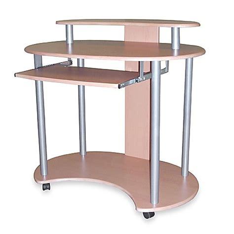 Curved Computer Desk Curved Computer Desk With Casters Bed Bath Beyond