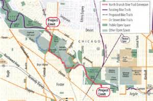 Chicago Bike Trail Map by Project Updates Aldermanlaurino Com