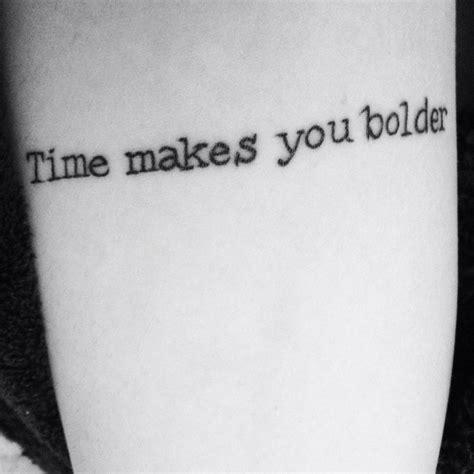 fleetwood mac tattoo quot time makes you bolder quot fleetwood mac landslide t a