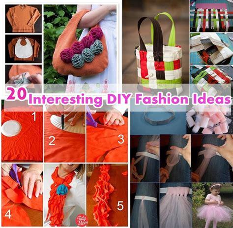diy fashion projects 20 interesting diy fashion ideas diy craft projects