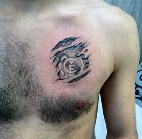 small soccer tattoos 60 real madrid designs for soccer ink ideas