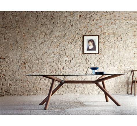 tavoli lunghi tavolo shangai riflessi versione cristallo legno marmo