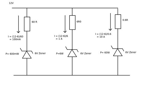 diode in parallel with current source why do we connect a resistor before a zener diode electrical engineering stack exchange