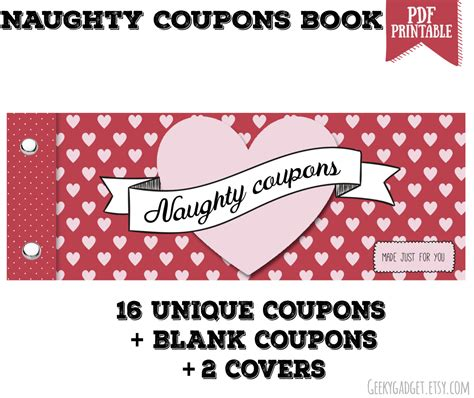 10 new coupon book for husband template write happy ending