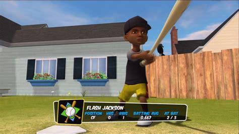 backyard baseball flash flash jackson junior backyard baseball youtube