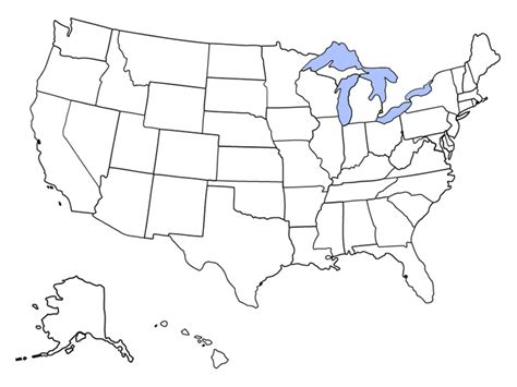 us map outline states blank geography us maps with states
