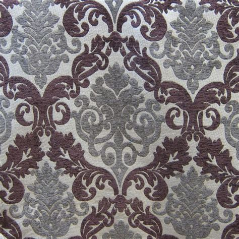purple drapery fabric purple damask upholstery fabric hautehousefabric com