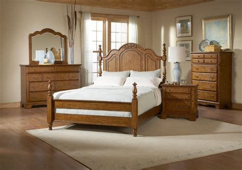 broyhill bedroom furniture sets broyhill oakridge king poster 7 piece bedroom set 4296