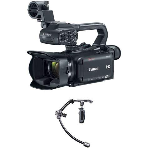 merlin stabilizer canon xa35 camcorder kit with steadicam merlin stabilizer b h
