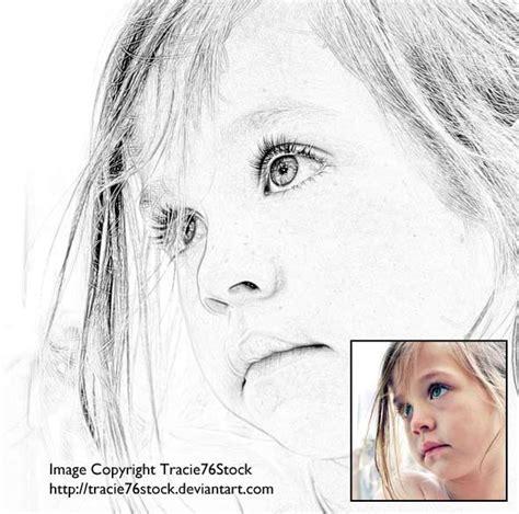 Tutorial Photoshop Sketch | gallery pencil sketch photoshop tutorial drawing art