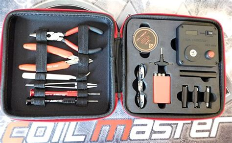 Coil Master Coiling Kit Modding Vaporizer vaping gift guide 2018 ideas for the vaper in your ecigclick