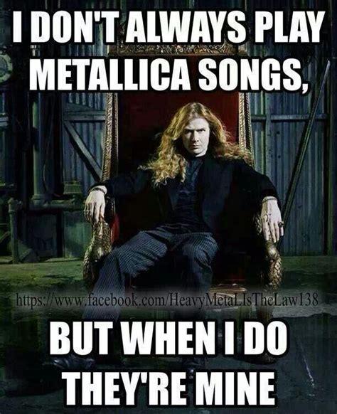 Metallica Memes - megadeth and metallica meme www pixshark com images