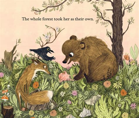 libro woods a celebration a sweet illustrated celebration of our wild inner child