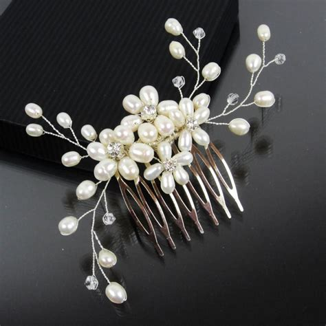 Wedding Hair Accessories Pearl by Pearl Wedding Hair Accessories Www Imgkid The