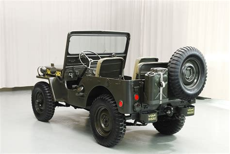 1951 willys jeep value 1951 willys m38 jeep hyman ltd classic cars