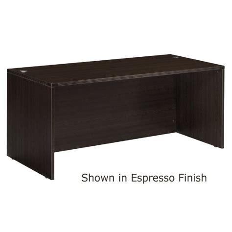espresso desk desk shell 66x30 espresso