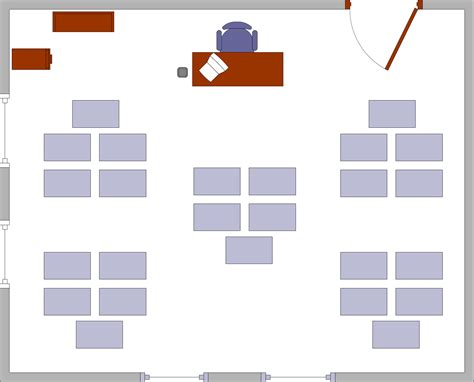 Free classroom seating chart template 2