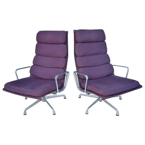 eames armchairs mid century pair of armchairs designed by eames for herman