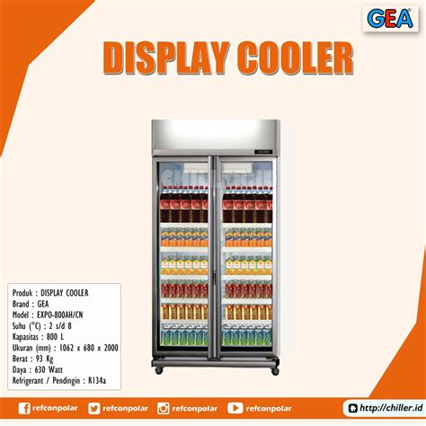 Dispenser Gea jual expo 800ah cn display cooler brand gea harga murah