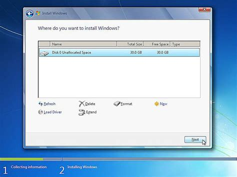install windows 10 blank hard drive how to clean install windows 7 complete walkthrough