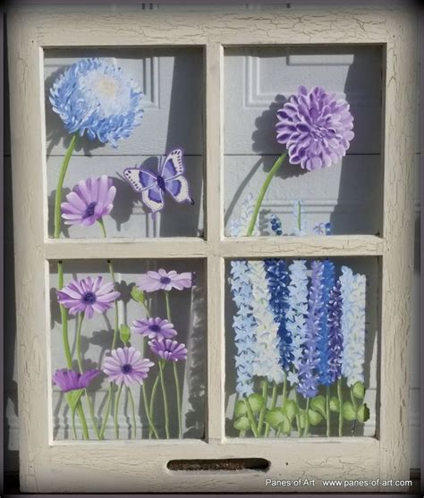 Decorative Window Panes by 25 Best Ideas About Painted Window On